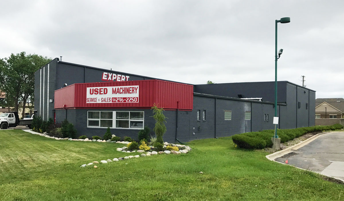 expert machine repair and sales warehouse
